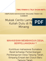 Halal Bihalal, Tamu Ramah & Talk Show