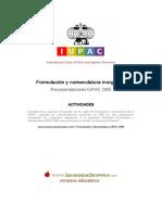 Ejercicicios formulación