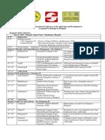 Mongolia RS_GIS International Conference Agenda