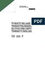 Zanussi TD-220 T