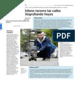 Robot Chileno Recorre Las Calles Radiografiando Hoyos - Www.lun