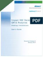 Impact 360 V10 Desktop Installations User Guide