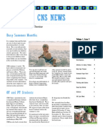 CNS Newsletter - 2008-07