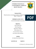 Estudio en comunidad de Veracruz sobre Control de Enfermedades Transmisibles