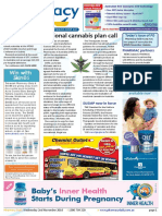 Pharmacy Daily for Wed 02 Nov 2016 - National cannabis plan call, OTC codeine costs, MIMS update, Health and Beauty and much more