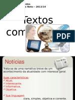 Textoscomunicacionais Notciareportagemeaentrevista 131114171925 Phpapp02