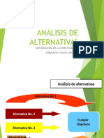 Diapositivas Análisis de Alternativas