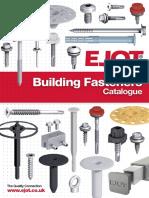 EJOT Screws Catalogue 2016