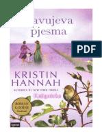 Kristin Hannah Slavujeva Pjesma