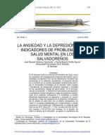 Artículo de Ansiedad y Depresión en Es.