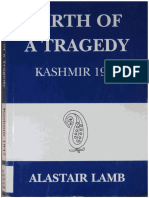 1994 Birth of a Tragedy--Kashmir 1947 by Lamb s
