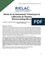 Diseño de un Instrumento Virtual para la calibración de Sistemas Electrocardiográficos.pdf