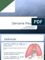 Derrame Pleural 1