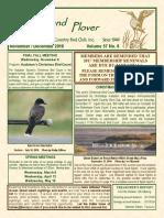 Upland Plover November-December 2016