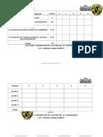 Criterios de Evaluacion Reynado 2016