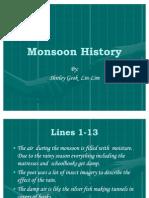 Monsoon History