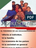 Seminario Adolescentes y Padres - DROGADICCIÓN