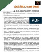 Informe Reglas Basicas Grupos Ciclismo