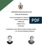 AntologiaDerechoCivilI OctavioRodriguezGonzalez