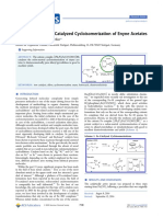 A Redox-Neutral Fe-Catalyzed Cycloisomerization of Enyne Acetates ACS BOM