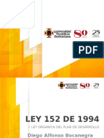 Ley 152 de 1994 - Capitulo 2