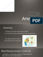 Anemia Pediatria