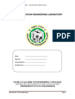 Transportation Engineering Lab Manual