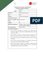 Programa de Auditoria I 2011