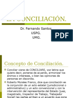 "La Conciliaciã""n"