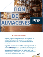 Gestion de Almacenes Logistica