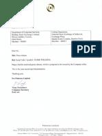 Pokarna's wholly owned subsidiary PESL exits CDR [Company Update]