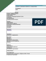 Glosario de Términos Generales de Visual Basic