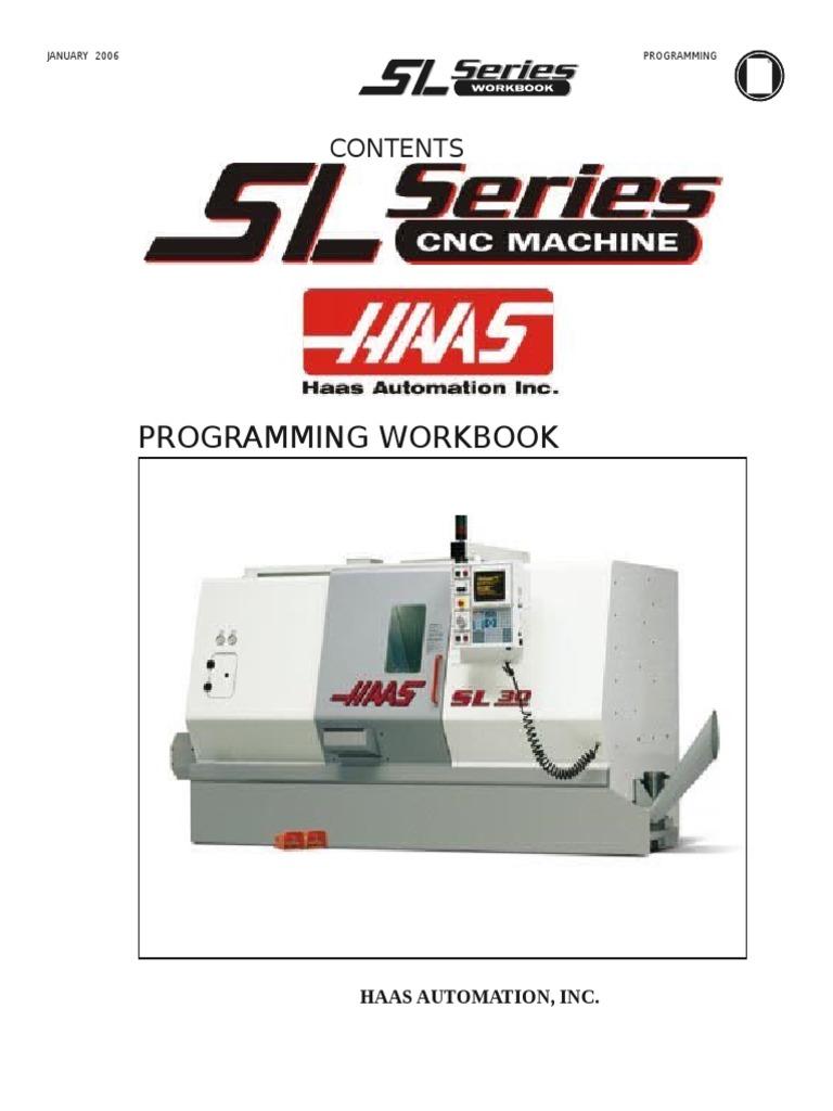 Haas Lathe Programming Workbook   Cartesian Coordinate System ...