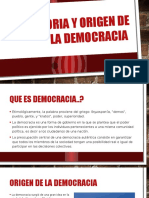 Historia y Origen de La Democracia