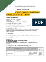 SESIÓN DE APRENDIZAJE  DEL MES SETIEMBRE.docx