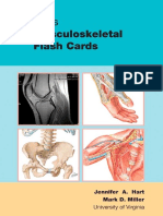 Netter's Musculoskeletal Flash Cards 1E