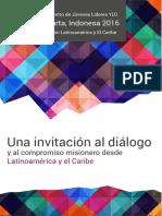 """""""Una invitación al diálogo y al compromiso misionero desde América Latina y El Caribe"""""""
