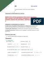 translating word to math