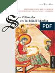 Varios - Ser Filosofo en La Edad Media