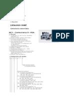 Lista de Materiales Con Caracteristicas Tecnicas