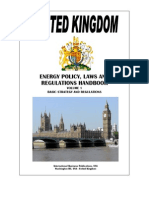 UK Energy Pocy Lwas Regulations