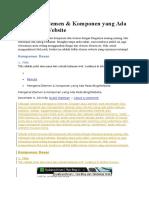 Mengenal Elemen Blog