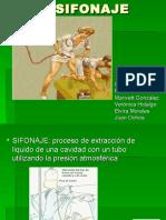 SIFONAJEs