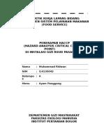 RIDWAN - HACCP