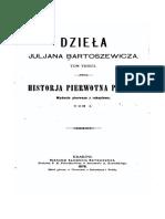 Historia Pierwotna Polski I Juljan Bartosiewicz
