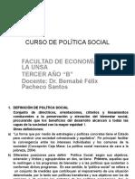 Curso de Política Social