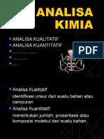 11. Analisa Kimia 1