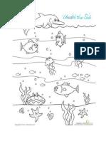 Worksheet Sea Creatures 2
