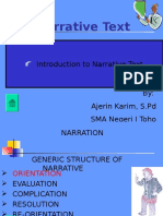 Narrative Text, Merpati