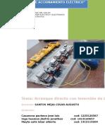 Arranque Directo de Motor Eléctrico de Inducción Trifásico 3